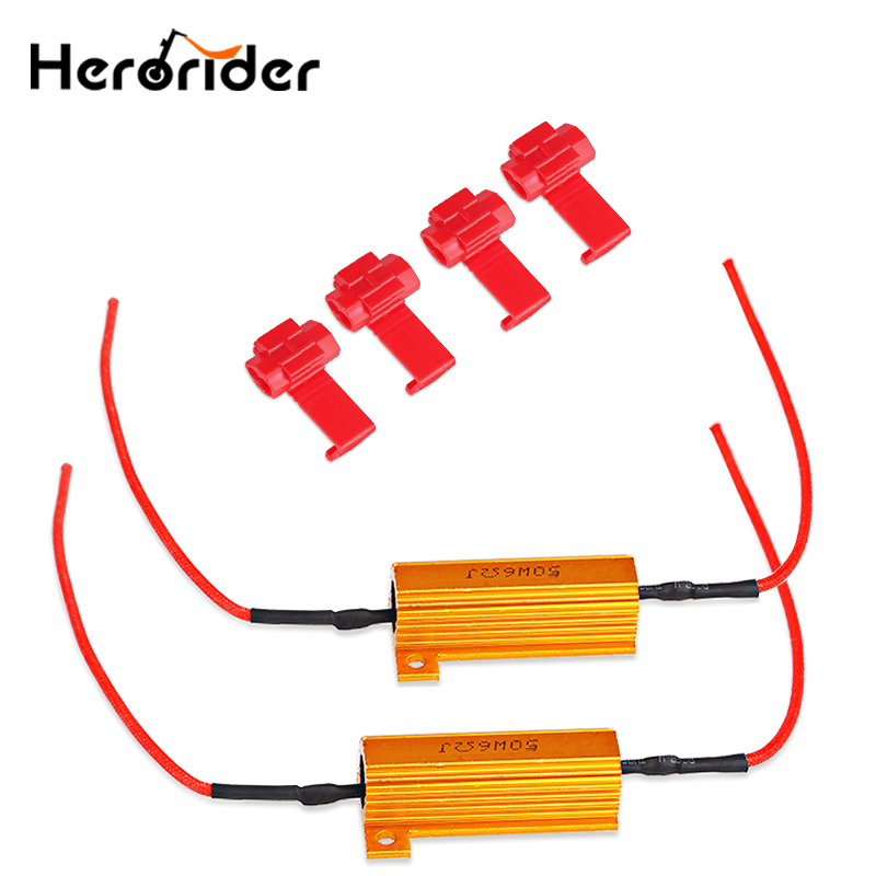 Beautiful 2x T20 7440 7443 Led Error Canceller Canbus Load Resistor Hyper Flash Decoder Rr Laderegler