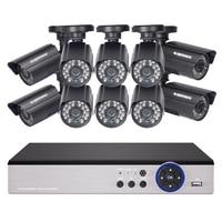 DEFEWAY 1080N HDMI DVR 1200TVL 720P HD Outdoor Home Security Camera System 16CH CCTV Video Surveillance