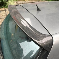 Car Rear Roof Lip Spoiler for Volkswagen VW Golf 5 V MK5 R32 GTI 2006 2009 Window Spoiler Without Lamp