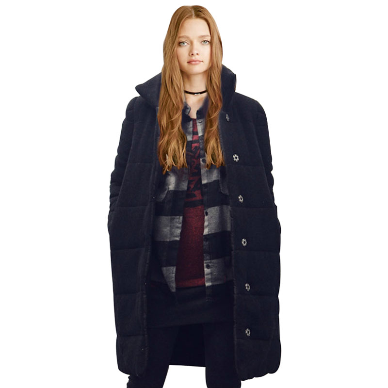 Winter Jacket Women 2016 New Long Winter Womens Parka Thickening Cotton Casual Outwear Coat Coats Manteau