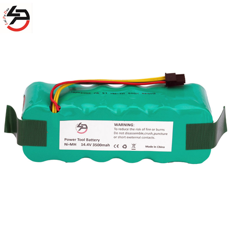 NI-MH 14.4V 3500mAh Panda X500 Battery For Ecovacs Mirror CR120 Vacuum Cleaner Dibea X500 X580 Battery