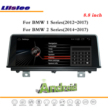 Liislee Car Android Multimedia For BMW 1 / 2 Series 2014~2017 Stereo Radio IPOD CD DVD Player GPS Navi Nav Map Navigation System