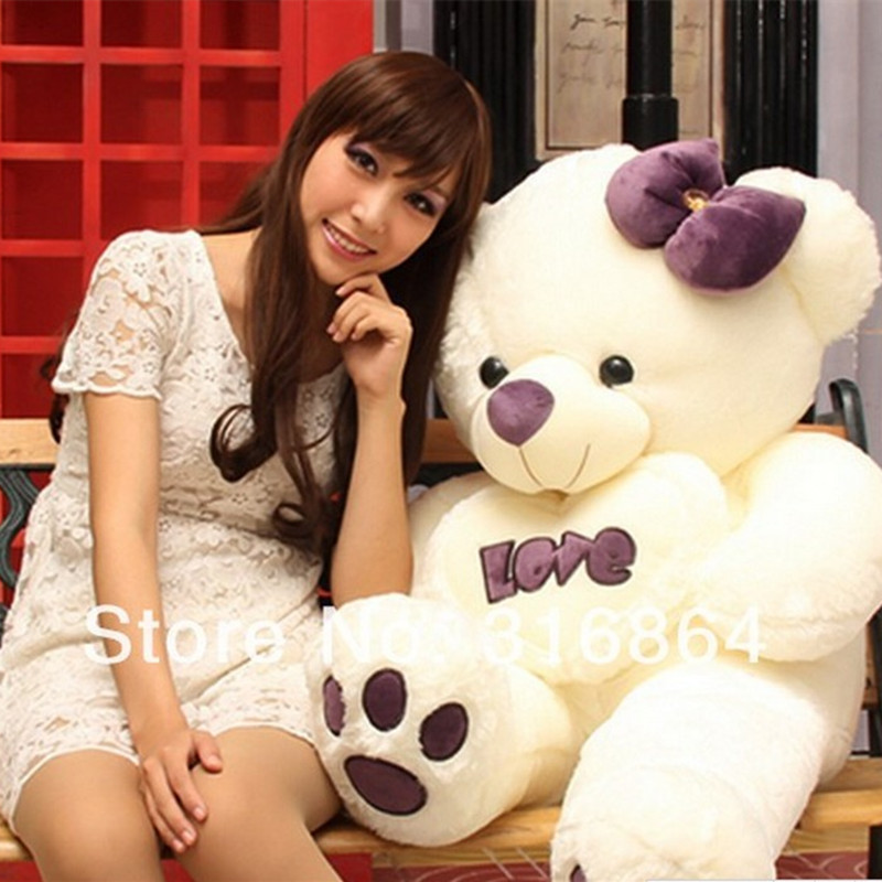 120cm Teddy bear plush toy Love bear soft toy Gift for lover Christmas gift Factory Supply