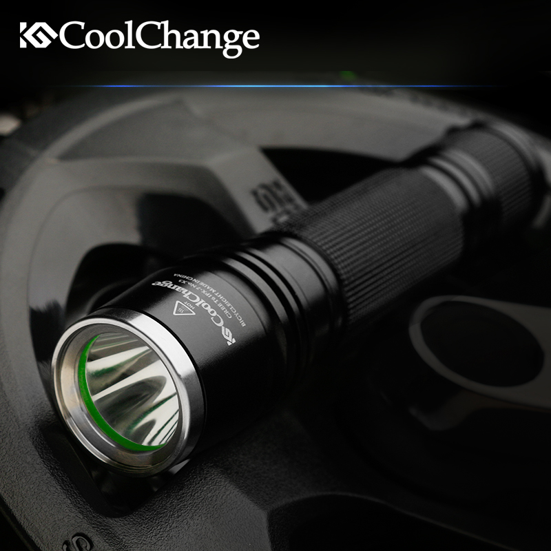 Coolchange Front Bycicle Light Mtb Flashlight for Bicycle Torchlight Bike Led Cycling Light Waterproof 1000 Lumens Bicycle Torch