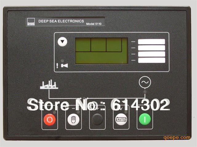 DSE5110 contrôleur de générateur de mer profonde pour générateur diesel et groupe électrogène à gaz