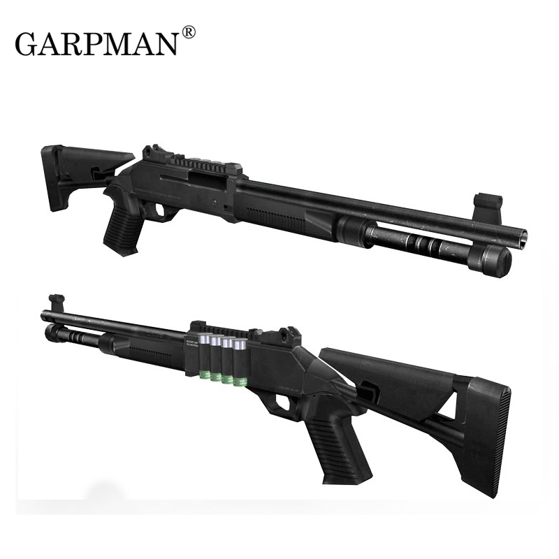 1:1 Remington XM1014 Shotgun Paper Model Gun Magazine Weapons 3D Puzzle For Boys DIY Educational Papercraft