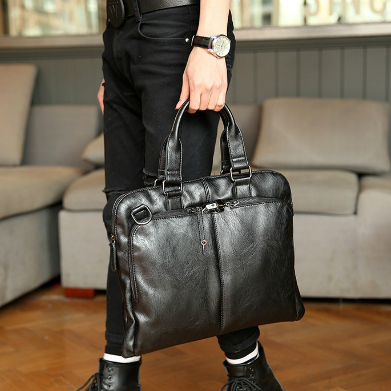 Tidog Korean Briefcase Business Bag Shoulder Bag