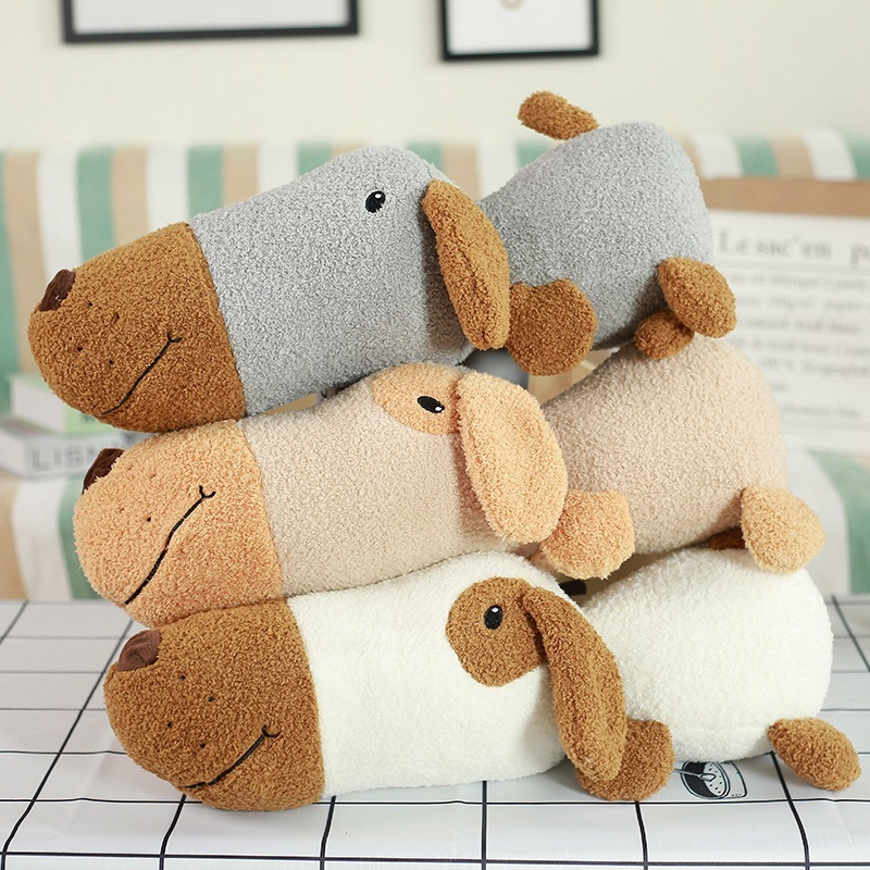 Super Cute 1Pc New style big head dog plush toys cute Soft dog doll Kids birthday gift Bed Sofa sleep cushion pillow