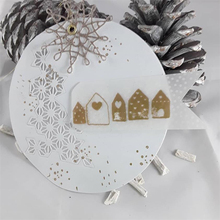 JC New Metal Cutting Dies for Scrapbooking Cut Small Heart House Craft 2019 Die Stencil Paper Card Making Model Decoration