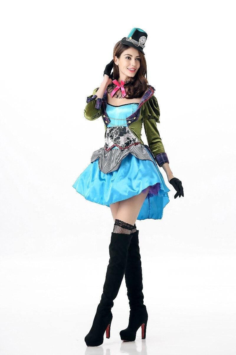 Maid kostüm Alice im wunderland Sexy Blau Magd cosplay kleidung ...
