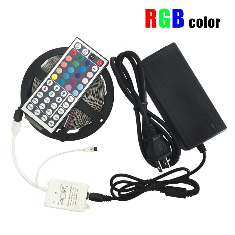 Outdoor 12 Volt 60leds Meter Led Strip Smd 5050 Rgb: NEW 5m 5050 Waterproof LED Strip RGB Led Light DC12V
