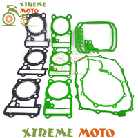 Motorcycle Complete Engine Cylinder Top End Crankcase Cover Overhaul Gasket Kit Set For Honda XL600 VLX600