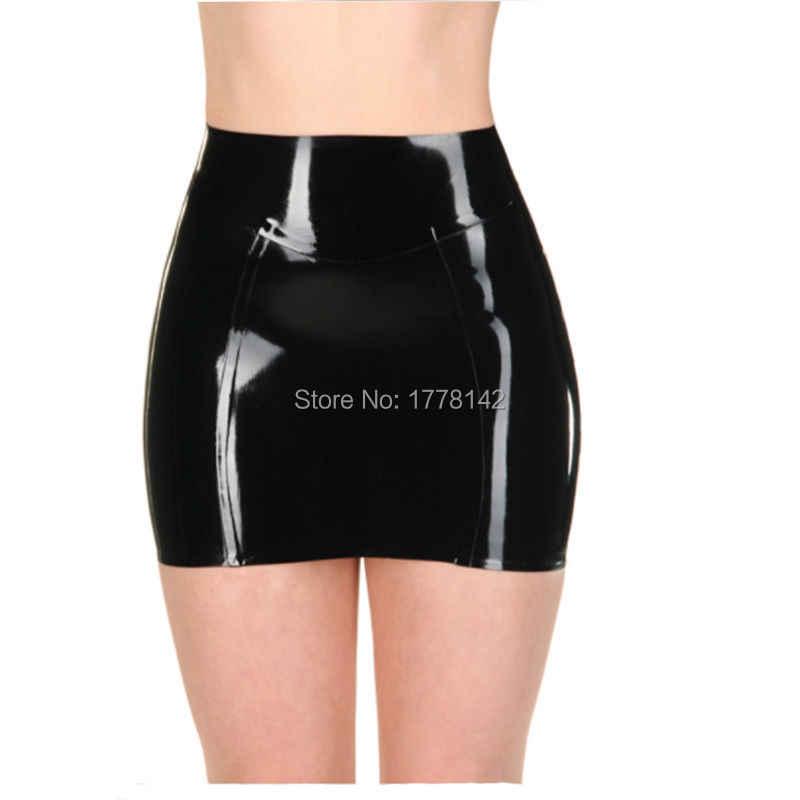 3a3a2a87d Detail Feedback Questions about Latex Skirt Women Mini Skirt on ...
