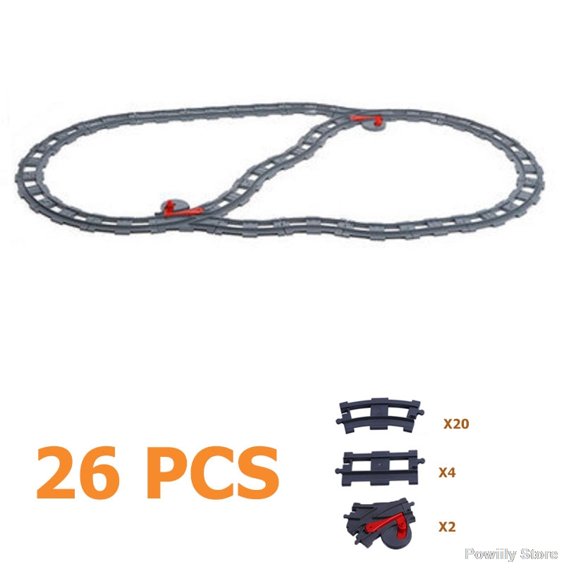 Duplo Train Track Sets 80