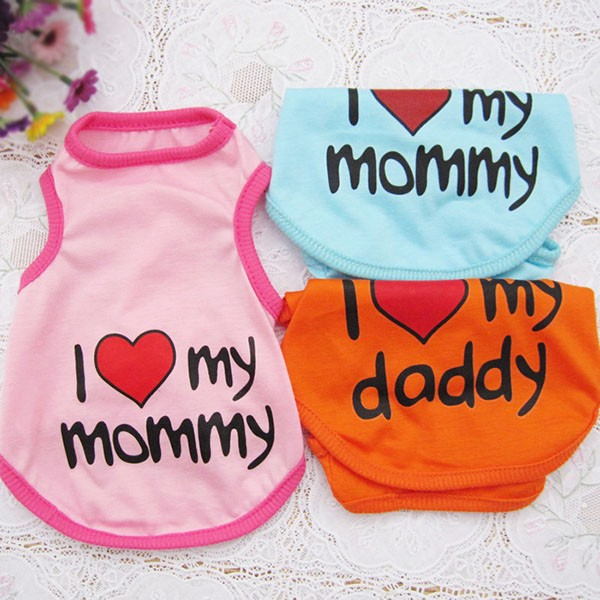 I Love Mommy-Daddy Cat Shirt