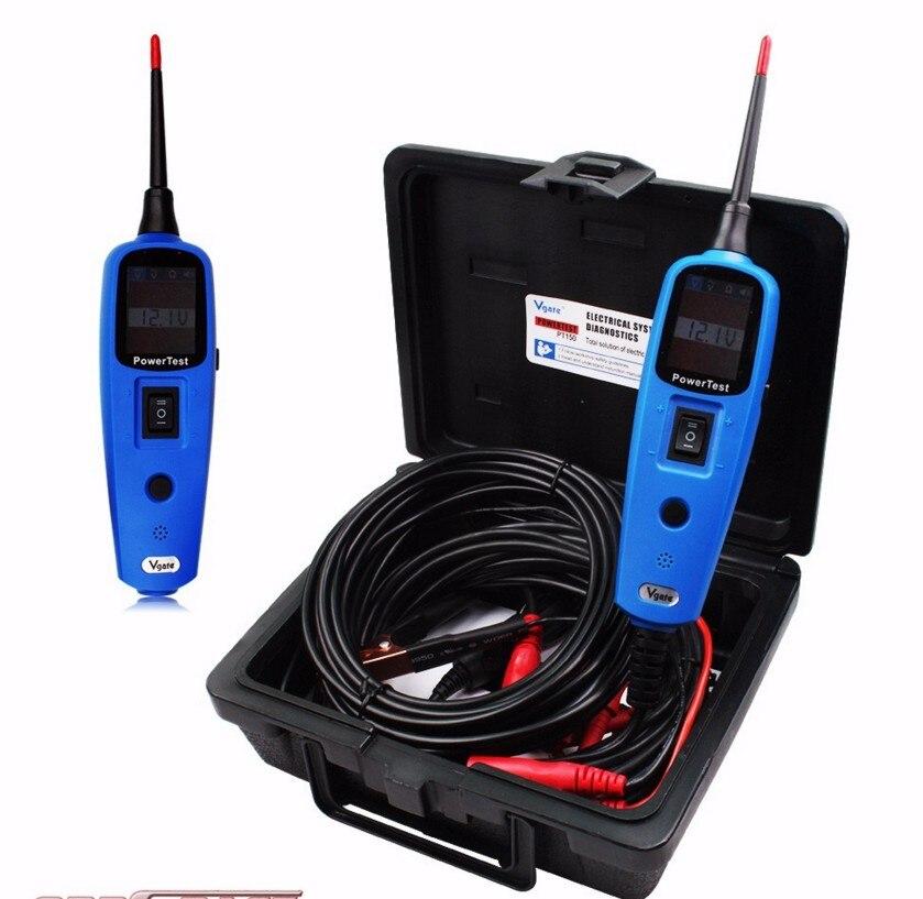 ФОТО 2017 Multi-Functional Vgate PowerTest PT150 Electrical System Diagnostic Tool Car Electric Tester Vgate PT150