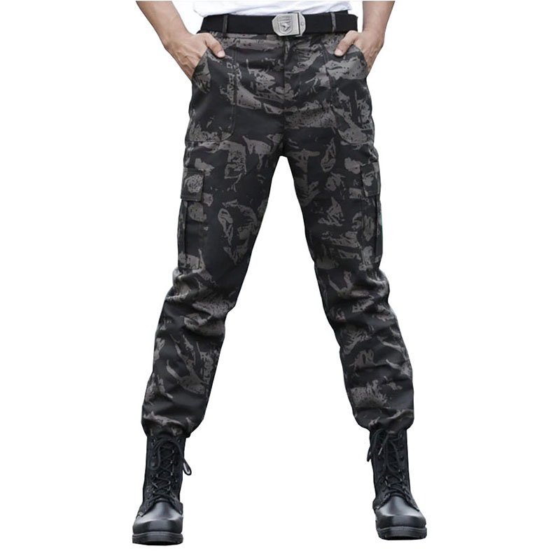 Army Trekking Hiking Camo Pants Outdoor Tactical Hunting Fishing Pants Military Quick Dry Camouflage Trousers Tactical Clothes