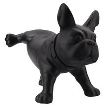 Hot Cute Home Decor PE Bull Dog Ornaments Wedding Gift Creative Simulation Peeing Statues Decoration Accessorie