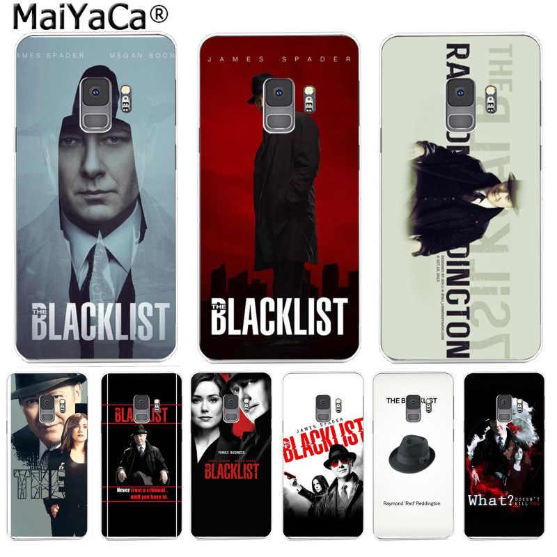 MaiYaCa ブラックリストおかしい電話ケースカラフルなかわいい三星 S9 S9 プラス S5 S6 S6edge S6plus S7 s7edge S8 S8plus