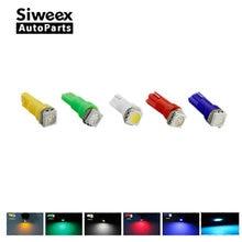 20pcs/lot Car Interior LED light T5 1 SMD 5050 Dashboard Car Vehicle B