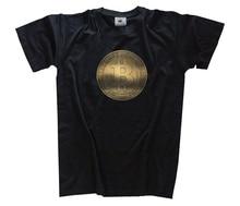 Bitcoin Coin Libertas Aequitas Veritas Print in Gold Money T-SHIRT  Harajuku Tops Fashion Classic Unique t-Shirt gift