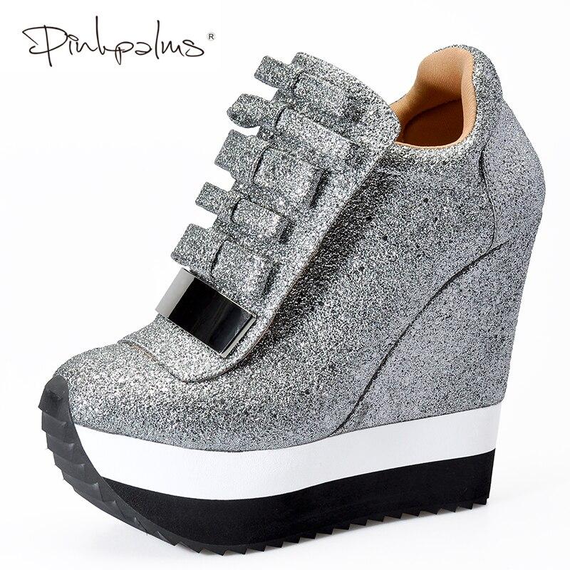 Ayakk.'ten Kadın Pompaları'de Pembe Avuç Içi Ayakkabı Kadın Yüksekliği Artış Ayakkabı Kadın Sonbahar Kış Yüksek Topuklu Pompalar Trend Karamel Benzersiz Tasarım Spor Ayakkabı'da  Grup 1
