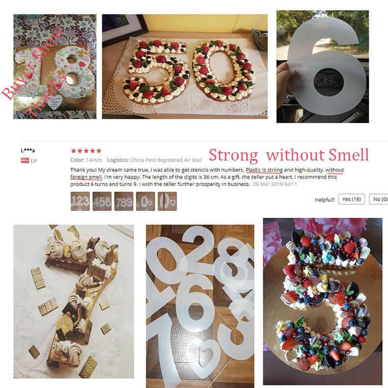 قوالب للكعك الأبجدية عدد قوالب الكيك قالب أدوات تزيين الكيك عيد ميلاد الزفاف الخبز المعجنات الحلويات اكسسوارات