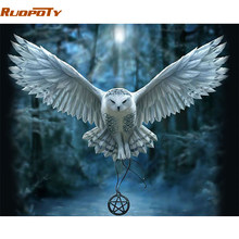 860+ Foto Gambar Burung Hantu Pensil Warna  Paling Bagus Free