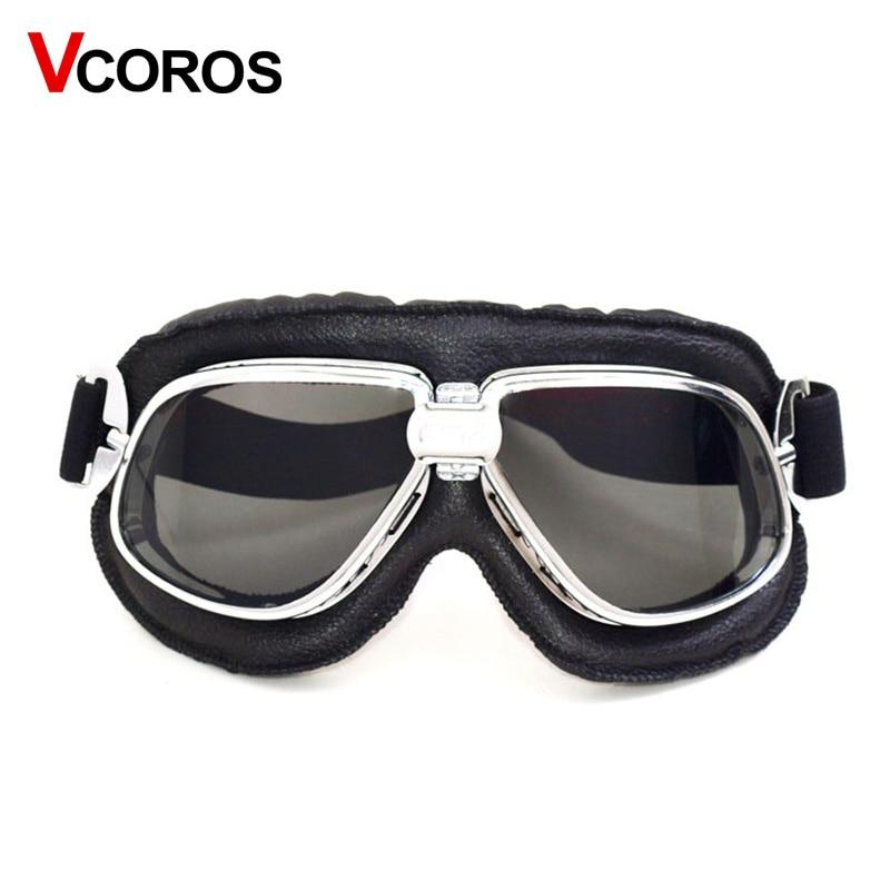 Adjustable harley motorcycle helmet goggles open face vintage scooter retro moto helmet goggles Windproof sandr mask goggles