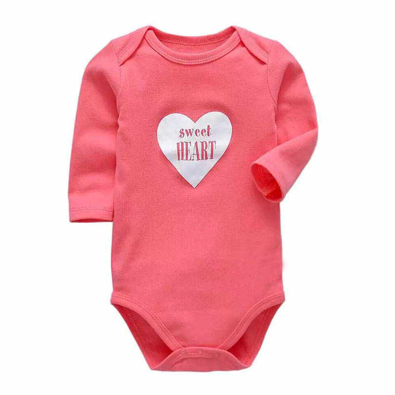 Newborn Baby Clothing Baby Boys Girls Clothes 100% Cotton Baby Bodysuit Long Sleeve Infant Jumpsuit 2018 New Fashion