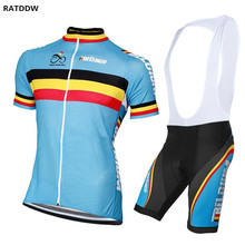 New Summer Team belgium cycling clothing sets Roupa maillot Cycling Jersey Cycling Clothing/Mountain Bike Bicycle Clothes