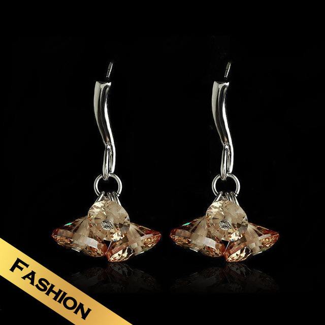 Special Drop Earrings Drop Synthetic Zircon Fashion Classic Handmade Design Free Shipping Sweet Jewelry EHG9B12