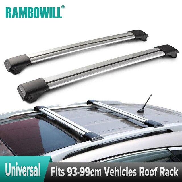 Charmant 2X Universal Car Roof Rack Cross Bars Top Roof Box Luggage Boat Bike Carrier  Anti