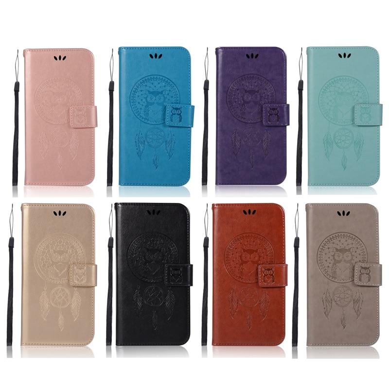 Embossed Wallet Case For samsung galaxy j5 prime PU leather Owl Flip Cover Case For samsung galaxy j5 prime Case Phone Capa