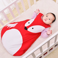 Newborn Sleep Sack Panda Fox Baby Sleeping Bag Cotton Infant Sleeping Sack Baby Winter Sleeping Bag Children Kids Child Pajamas