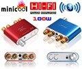 2017 nova nobsound ns-10g mini tpa3116 bluetooth 4.0 hifi amplificador de áudio em casa amplificador de potência estéreo digital 50 w * 2 vermelho ou azul