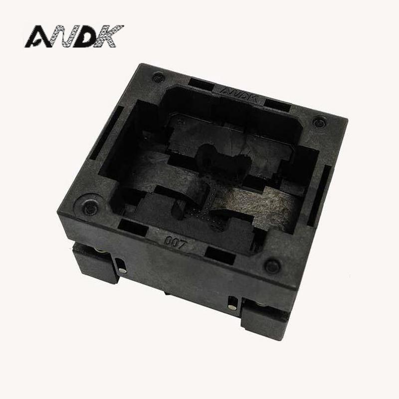 BGA48 OPEN TOP burn-in socket pin pitch 0.8mm IC size 8*10mm BGA48(8*10)-0.8-TP08/50N BGA48 VFBGA48 Burn in/programmer socket acticoat burn dressing acticoat burn drs 4x4 in 1 case 48 each