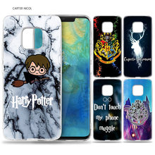 Case for Huawei Mate 10 20 Pro P10 P20 P30 Honor 10 8X 8C 8A Lite P Smart Y6 Y7 2018 2019 V20 Harry Potter Muggles Slytherin(China)