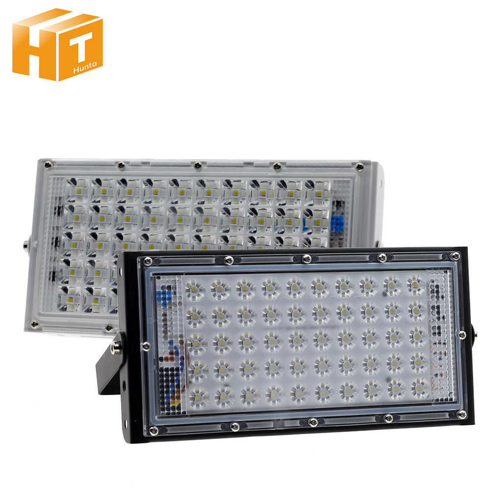 LED Spotlight 50W 220V IP65 Waterproof Outdoor LED Floodlight LED Street Lamp Garden Square Flood Light.