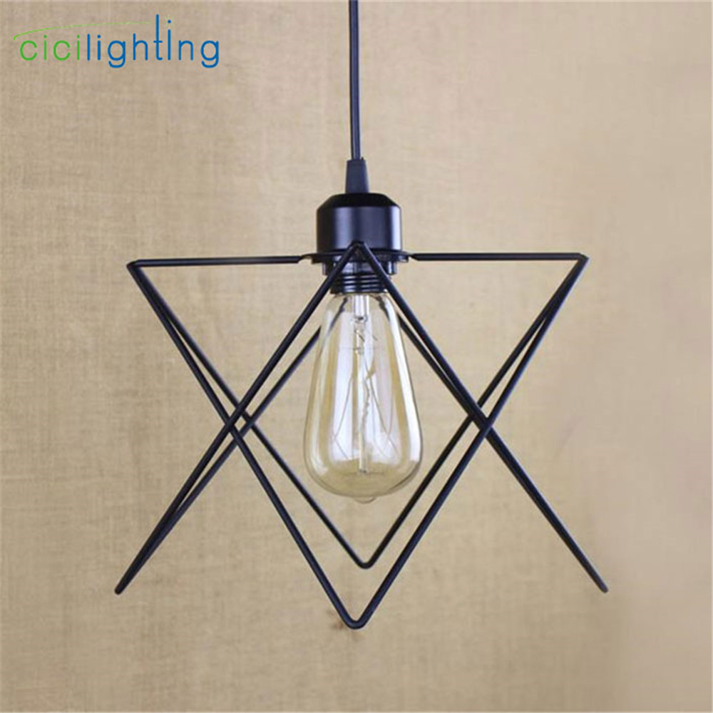 vintage industrial lamp lampara retro pendant light lampshade loft lights living dining room Countryside E27 edison lamps edison loft style vintage light industrial retro pendant lamp light e27 iron restaurant bar counter hanging chandeliers lamp