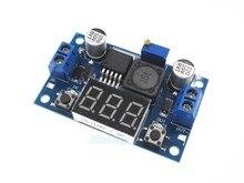Оптовая продажа 10 Шт./лот LM2596 DC 4.0 ~ 40 до 1.3-37 В Регулируемая Step-Down Модуль Питания + LED Вольтметр