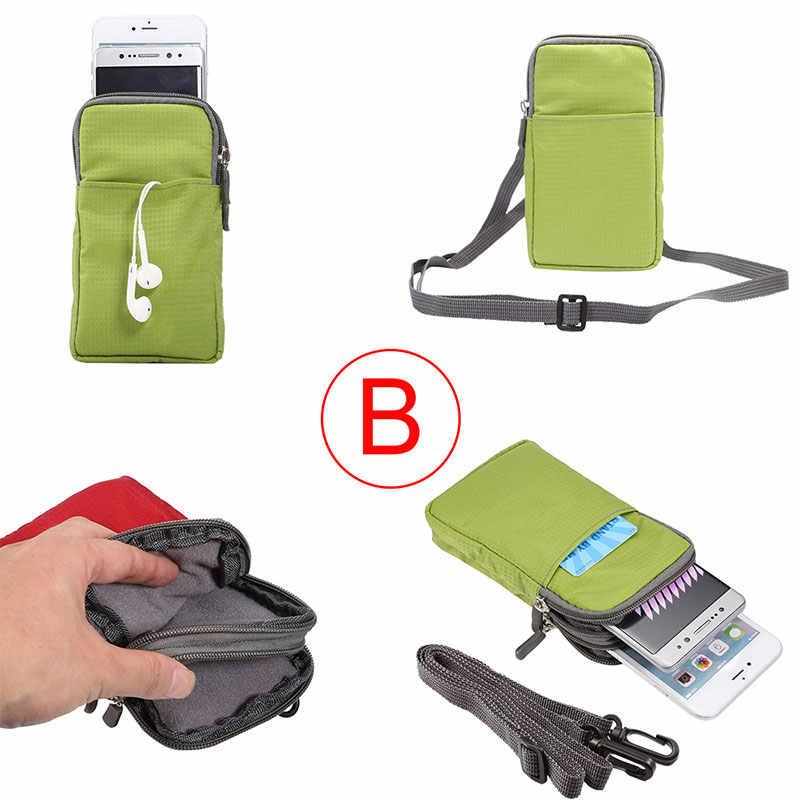 Boucho ユニバーサル大型電話バッグアウトドアスポーツハイキングランニングウエストベルトバッグ財布ポーチ財布ジッパーすべての電話