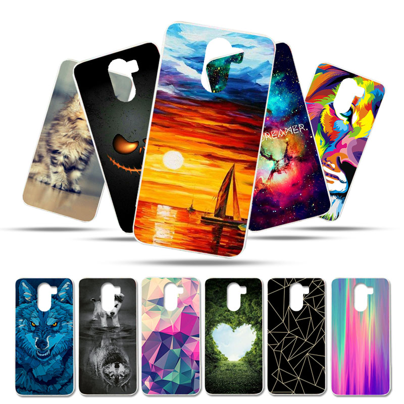 Bolomboy Painted Case For Wileyfox Swift 2X Case Silicone Soft TPU Cases For Wileyfox Swift 2X Cover Wildflowers Animal Bags