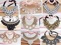 Frisado do laço do vintage colar gargantilha colar falso colar roupas e acessórios colar falso doce das mulheres