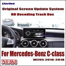 Original Car Screen Update Decoder For Mercedes-Benz C-Class W205 2015-2018 Parking Rear view Camera Carplay Interface Adapter цена 2017
