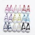 9 colores surtidos 5 cm zapatos de lona para muñeca BJD moda Mini zapatos de juguete zapatillas Bjd muñeca zapatos para muñeca rusa accesorios et013