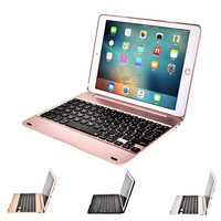 Slim Wireless Bluetooth Keyboard Foldable Stand Case Full Protective ABS Cover For IPad Mini 1234 Air