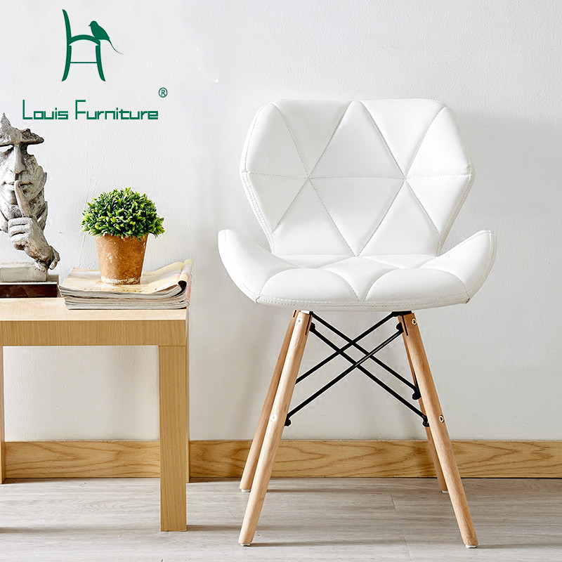 Louis Fashion Chairs Creative Computers Modern Minimalist Study Home Make-up Backups Nordic Imus