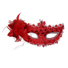 1PC Sexy Lace Mask Lace Venetian Mask Masquerade Carnival Masked Ball Fancy  Dress Costume   Halloween Dance Wedding Party Decor 011832eea4be