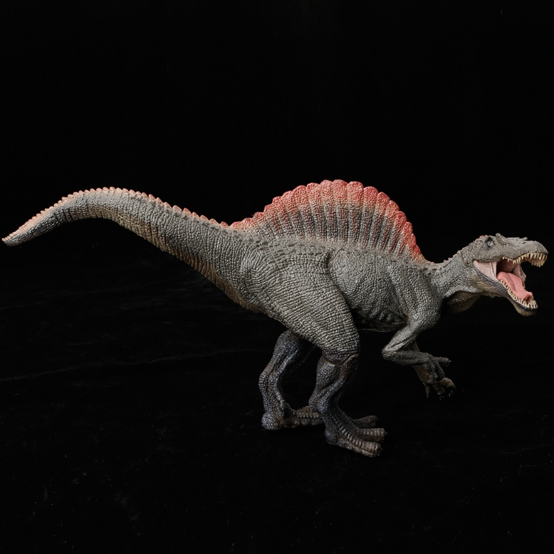 2018 New 1PC Spinosaurus <font><b>Dinosaur</b></font> Action Figure <font><b>Toys</b></font> Hand Puppet Kids Educational Model image